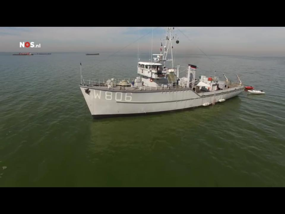 project berging Wellington IJsselmeer in de media
